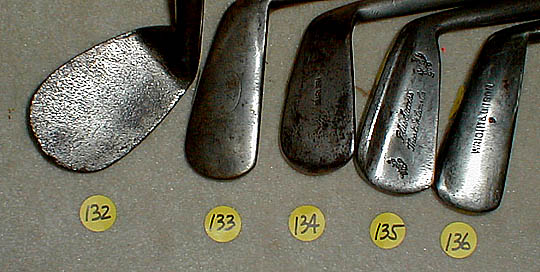 golf gifts - catalogue #133! wooden shaft golf clubs and
