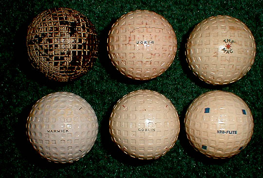 Gutta Percha Golf Ball Pure Gutta Percha Ball