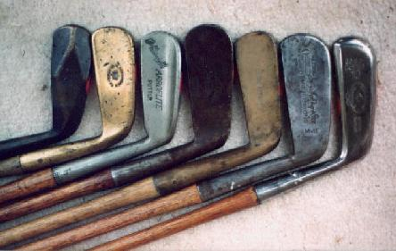 Hickory Shafted Putters Made in Great Britain