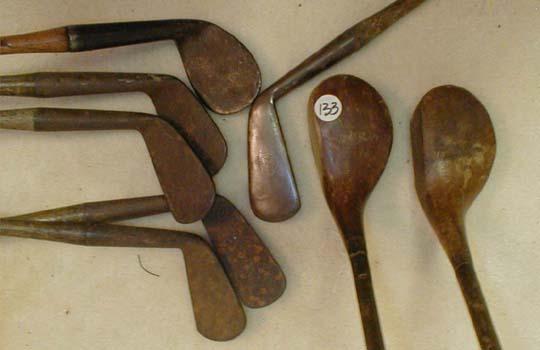 Catalogue 151 Antique Wooden Shaft Hickory Golf Clubs Golf Gifts