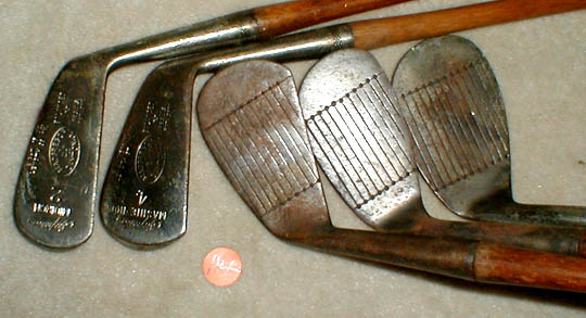 Golf Gifts Catalogue 139 Antique Wooden Shaft Hickory